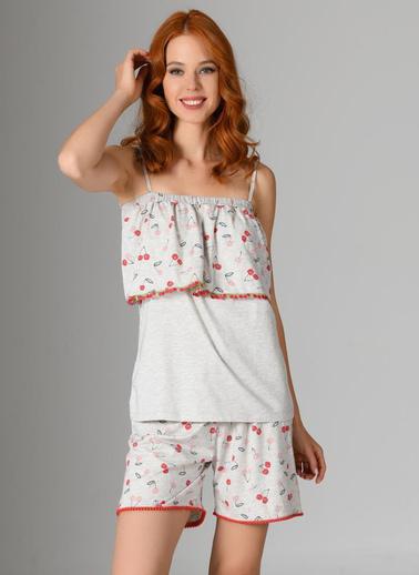 Nbb Pijama Takım Gri